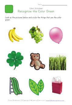 Color Pink worksheets | Activité maternelle | Pinterest ...