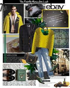 """""""Rock Menswear Like a Lady with eBay"""" by naturally-jolie ❤ liked on Polyvore"""