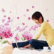 miljømæssige aftagelig blomme blomstre pvc væg st... – DKK kr. 113