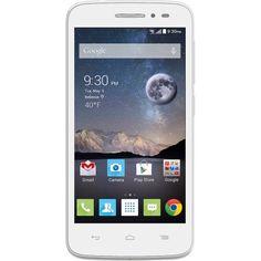 T-Mobile Alcatel Prepaid Pop Astro Smartphone, White
