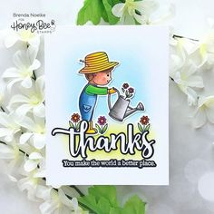 Paper Craft Supplies, Paper Crafts, Set Honey, Honey Bee Stamps, Trick Or Treat, Little Boys, How To Introduce Yourself, Cardmaking, Thankful
