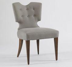 Elegant Upholstered Vivian Chair
