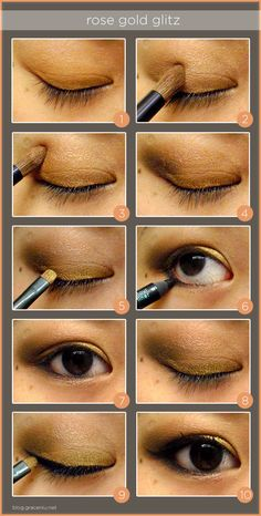 rose gold glitz // #makeup #tutorial