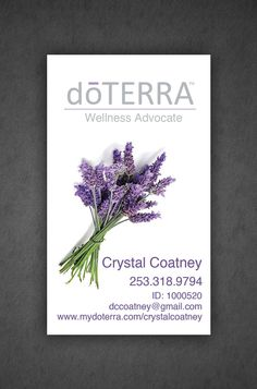 Printed doterra business card design full color by crystalcoatney printed doterra business card design full color by crystalcoatney vendor booth ideas pinterest doterra business cards doterra and business cheaphphosting Image collections