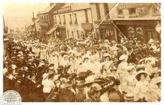 Cinderford Parade 1900 Forest of Dean
