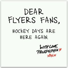 Withdrawal symptoms have dissipated. GO FLYERS!
