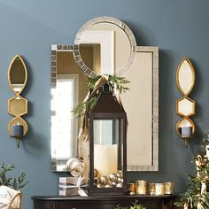 Love these sconces from Ballard Designs - Elise Candle Sconce