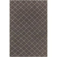 Renee Rug in Charcoal  /  Cream Rug in