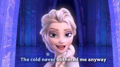 FROZEN - Let It Go Sing-along | Official Disney HD - YouTube Ilove