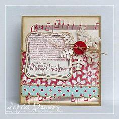 october afternoon christmas paper | supplies cardstock bazzill basics paper kraft papertrey ink vintage ...