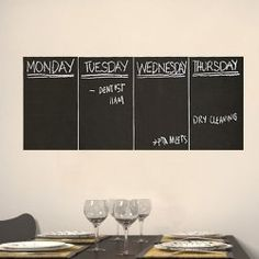 SHARE & Get it FREE | 4 PCS Concise Removable Blackboard Wall StickersFor Fashion Lovers only:80,000+ Items • New Arrivals Daily • Affordable Casual to Chic for Every Occasion Join Sammydress: Get YOUR $50 NOW!