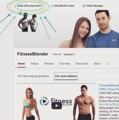 2 MILLION SUBSCRIBERS??!! What?!? Thanks to each and every one of you! What should we do to celebrate? Subscribe to be the first to know when our new workouts are released @ https://www.youtube.com/user/FitnessBlender