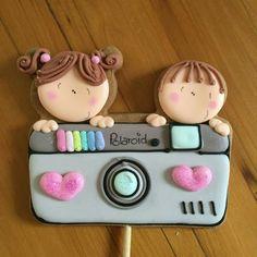 Adorable camera cookie