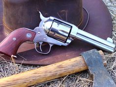 Ruger Vaquero. I love revolvers, and I hear Vaqueros are sone pretty top of the line Single Actions.