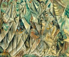 Max Weber, Woman in Tents.  Jewish painter known for Cubism and American Landscapes.