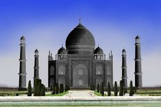 Taj Mahal history: Read the history of Black Taj Mahal, that have been planned by Shah Jahan to be built across the Yamuna River opposite the Taj Mahal in Agra North India, Seven Wonders, Today Show, Agra, India Travel, Incredible India, Wonders Of The World, Taj Mahal, Fun Facts
