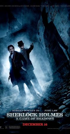 Sherlock Holmes: A Game of Shadows - The Movie. This time it's in Guy Richie's steampunk version. Inspired by the Danish Broadcasting Corporation's list of books.