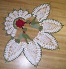 New Hand Crochet Doily -Hummingbirds- AFATC - http://crafts.goshoppins.com/handcrafted-finished-pieces/new-hand-crochet-doily-hummingbirds-afatc/