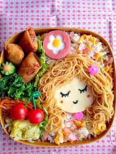 Spaghetti girl