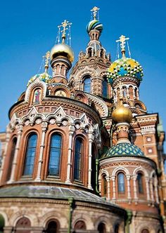 St Petersburg, Russia - The Church of the Resurrection