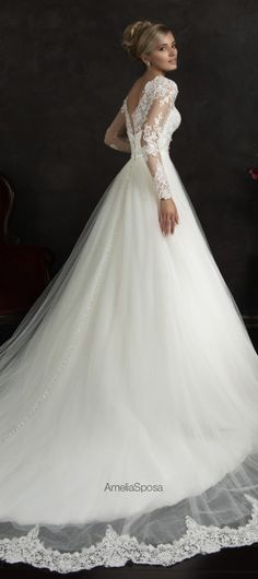Amelia Sposa 2015 Wedding Dresses - Belle The Magazine