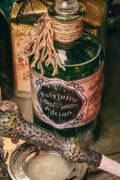 Other: DIY Harry Potter Potions for Halloween: Polyjuice