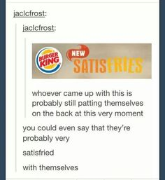 These puns need to stop before I die of disgust and laughter.---TOO GOOD TUMBLR