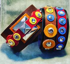 Joxasa leather cuffs