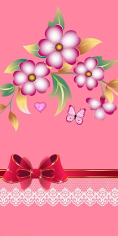 Flower Background Wallpaper, Flower Backgrounds, Hd Wallpaper, Wallpapers, Pink Love, Lisa, Bows, Gallery, Flowers