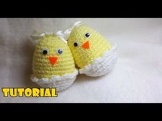 Tutorial di PASQUA - Pulcini nelle uova - Easter tutorial - chicks in eggs. FACILE - YouTube