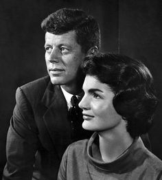 President John F. Kennedy and first lady Jacqueline Kennedy 1960 by Yousuf Karsh