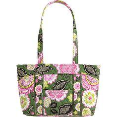#FabricHandbags, #Handbags, #VeraBradley - Vera Bradley Little Mandy Olivia Pink - Vera Bradley Fabric Handbags