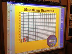 First Week's Fun - Tunstall's Teaching Tidbits - reading stamina Teaching Time, Teaching Reading, Teaching Ideas, Guided Reading, Teaching Tools, Shared Reading, Learning, Reading Resources, Reading Skills