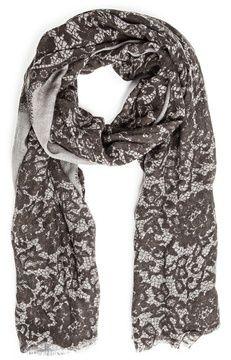 Lace print foulard on shopstyle.com