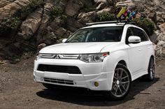 2014 Mitsubishi Outlander Sport White