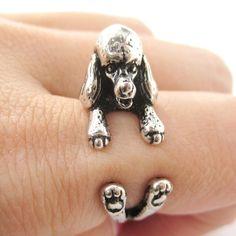 Uszkár kutya gyűrű