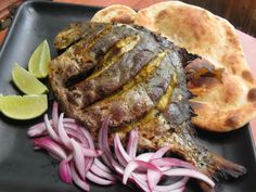 South Asian Cuisine - Pomfret