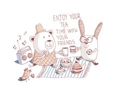 teatime with friends