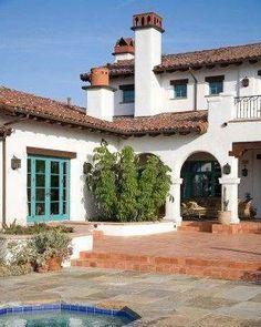 spanish style homes in the uk #Spanishstylehomes #spanishstylehomeskitchens