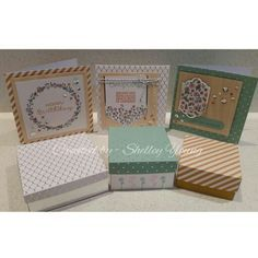 Stampin' Up! Cottage Greetings Card kit by Shelley Young - SYCO Cards.