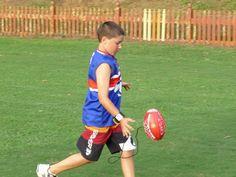 mark master AFL training ball