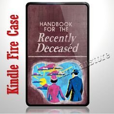 Beetlejuice Handbook for the Recently Deceased Kindle Fire Case | Merchanstore - Accessories on ArtFire