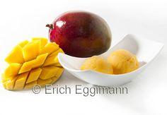 Mango Sorbet ohne Eismaschine