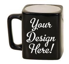 Ceramic Mugs - Square 8oz - Customized