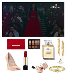 """Untitled #701"" by arzu-alieva ❤ liked on Polyvore featuring beauty, Dune, Jennifer Meyer Jewelry, Lancôme and Morphe"