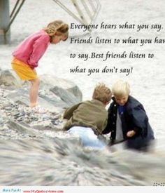 Best friends listen everything - quotes about boys   My Quotes Home - Quotes About Inspiration