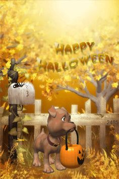 happy Halloween Mobile Screensavers available for free download.