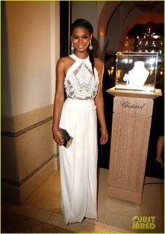 Chanel iman: Pre-Oscars Party Pretty! | irina shayk alyssa miller pre oscar party pretty 09 - Photo