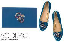 Scorpio Birthday Shoes - Photo credits Charlotte Olympia