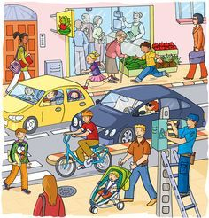 Selection of illustrations for youth Several projects. Selection of youth illustrations for various projects. Writing Pictures, Picture Writing Prompts, Grammar Activities, English Activities, Picture Comprehension, Sequencing Pictures, Picture Composition, Hidden Pictures, Picture Puzzles
